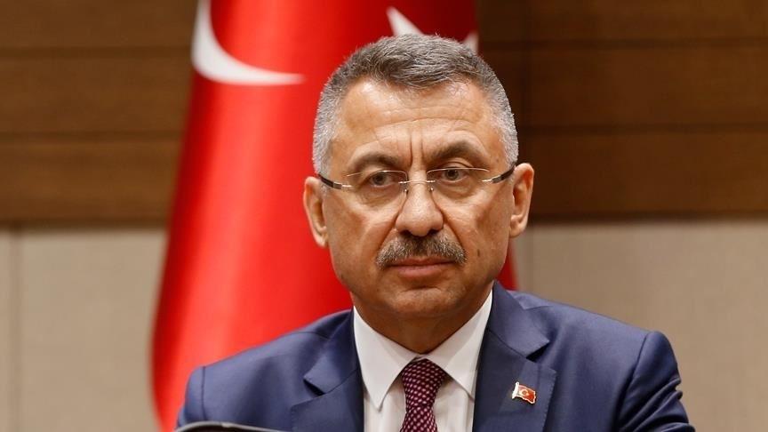 FUAT Oktay, Şırnak'ta şehit olan asker için başsağlığı dileğinde bulundu