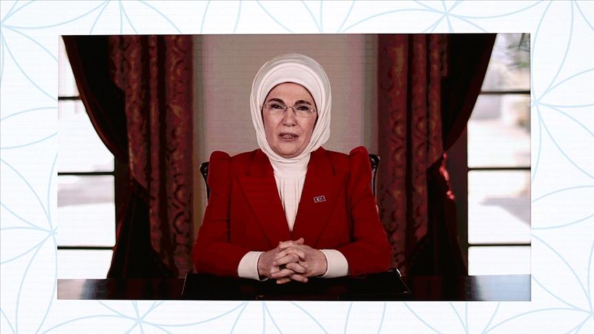 Emine Erdoğan: Bu topraklarda artan kadın gücü küresel sorunların çözülmesinde büyük katkı sağlayacak
