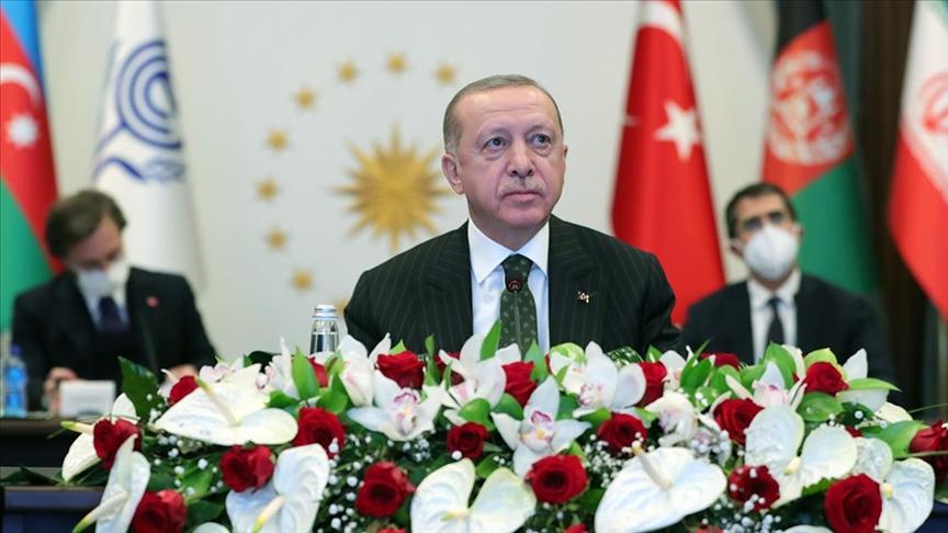 Erdoğan: Ekonomik İşbirliği Teşkilatı Ticaret Anlaşması'nın vakit kaybedilmeden yürürlüğe girmesi faydalı olacaktır