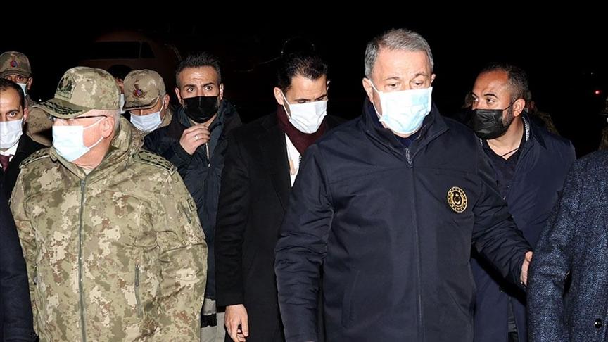 Milli Savunma Bakanı Hulusi Akar: Acımız çok büyük, milletçe derin üzüntü içindeyiz