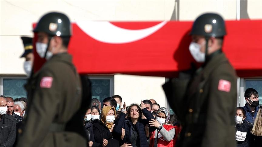 'Bitlis Şehitlerimize Veda'