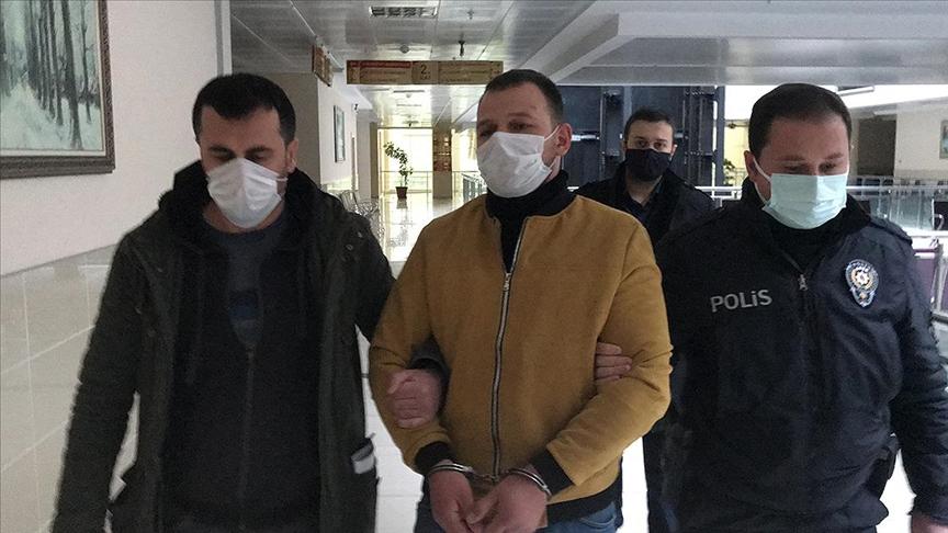 Samsun'da eski eşini darbeden o zanlı tutuklandı!