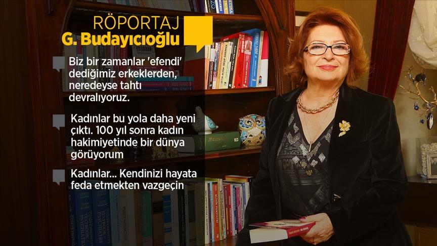 Psikiyatrist-Yazar Budayıcıoğlu değişen dünya düzeninde kadın-erkek ilişkilerini anlattı