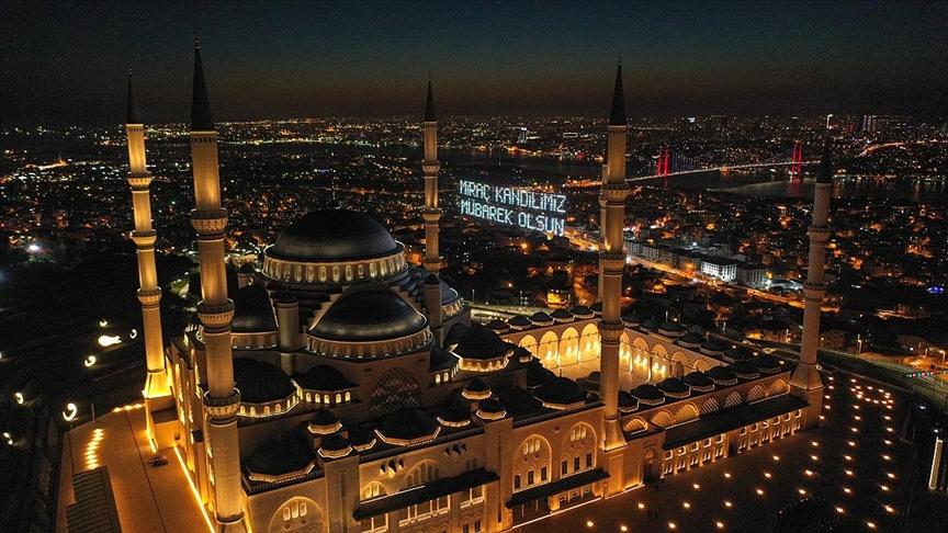 Hazreti Muhammed'in Allah'ın huzuruna yükseldiği Miraç gecesi idrak edilecek!