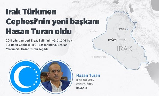Irak Türkmen Cephesi'nin yeni başkanı Hasan Turan oldu