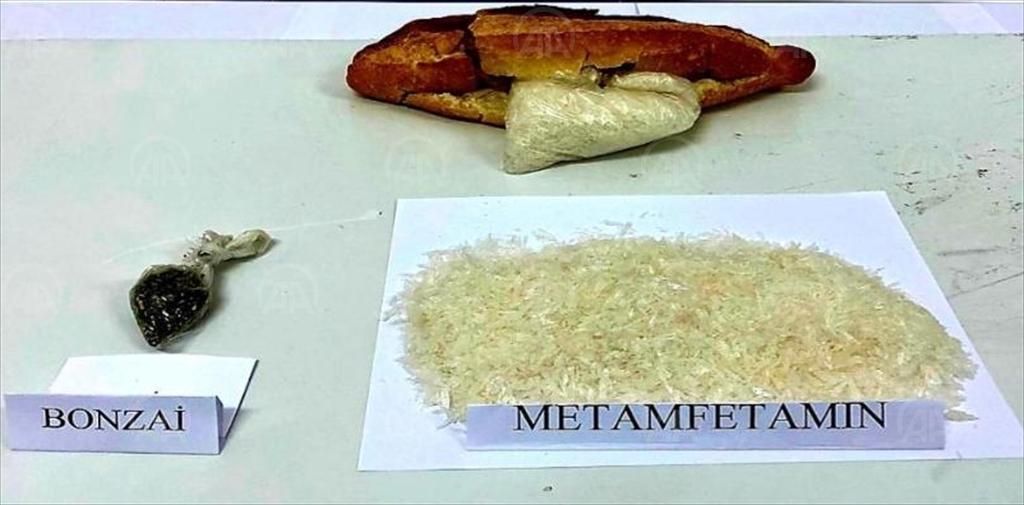 Kırıkkale'de ekmek arasına gizlenmiş uyuşturucu ele geçirildi