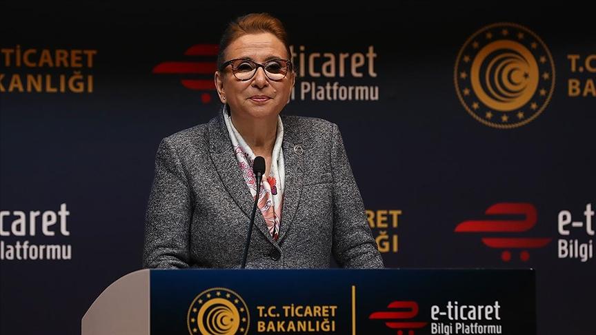 Pekcan: Türkiye'de e-ticaret hacmi 226,2 milyar liraya yükseldi