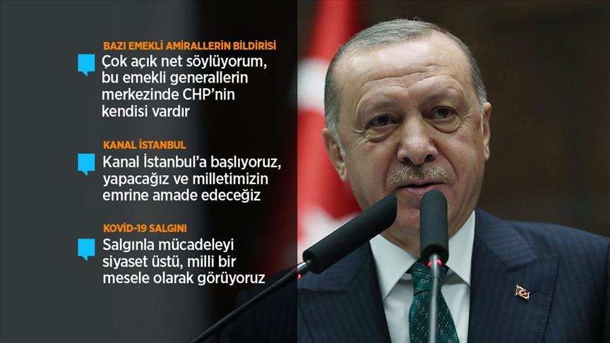 Erdoğan: Kendi iktidarını ülkenin felaketinde gören zihniyeti, en az darbeciler kadar tehlikeli görüyoruz