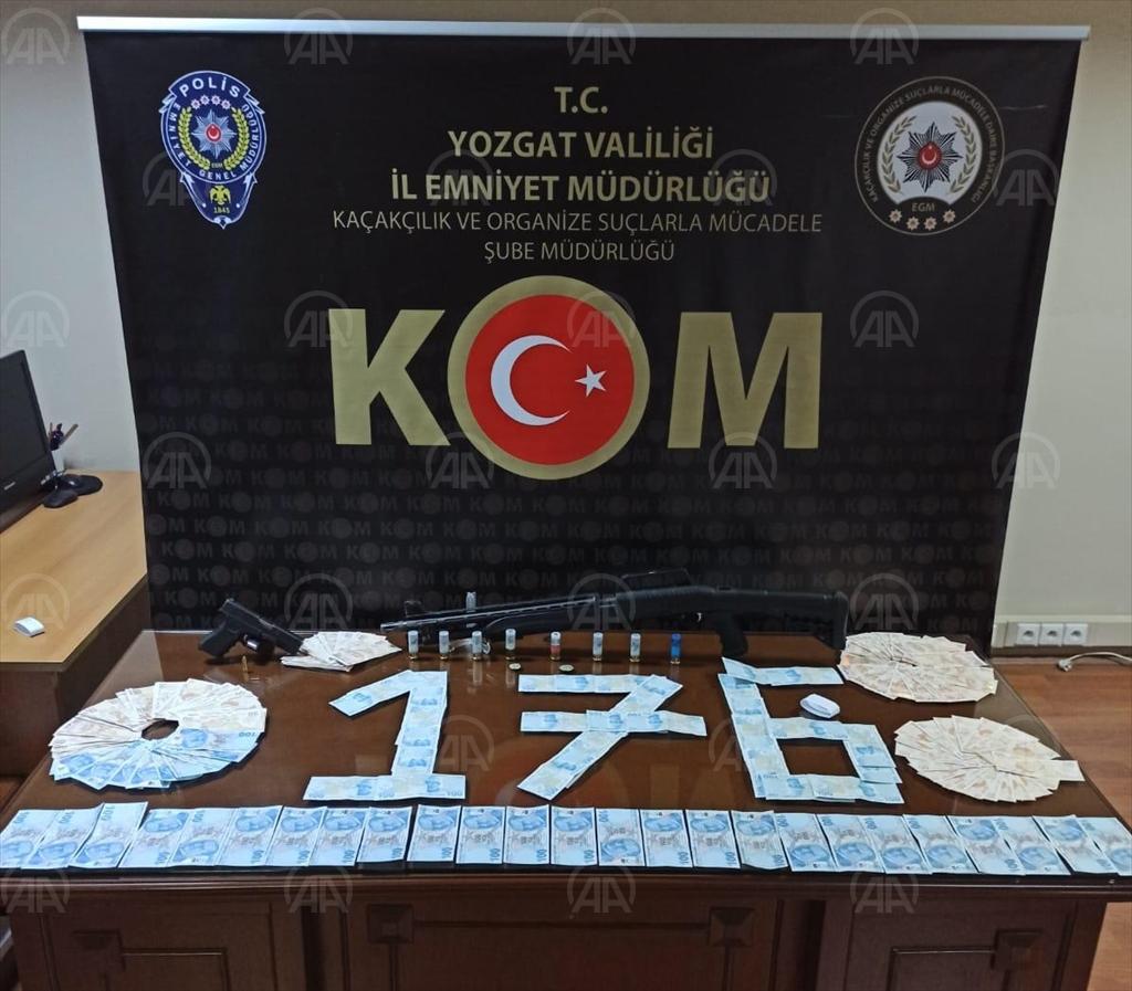 Yozgat'ta sahte para operasyonunda 3 zanlı yakalandı