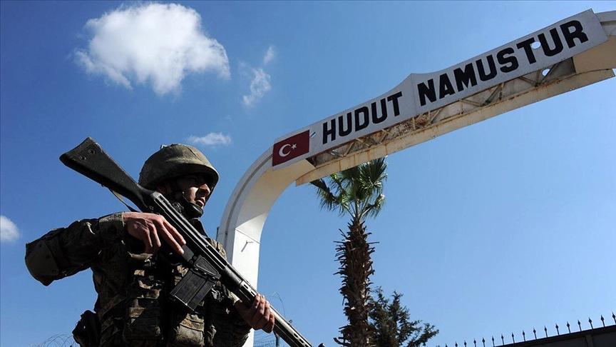 Hudutlardan kaçak geçmeyen çalışan 23 kişi yakalandı