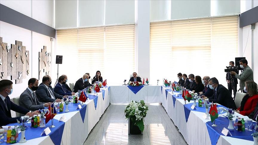 Yargıtay Cumhuriyet Başsavcısı Şahin 5 ülkeden gelen savcılarla görüştü