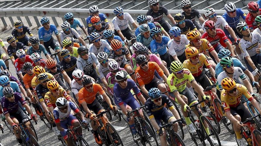 56. Cumhurbaşkanlığı Türkiye Bisiklet Turu'nda Kemer-Elmalı etabı başladı