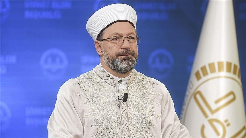 Diyanet İşleri Başkanı Erbaş: Dini istismar eden yapılara müsaade etmemeliyiz