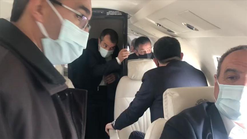 Tarım ve Orman Bakanı Pakdemirli'nin yer aldığı uçak Malatya'ya zorunlu iniş yaptı