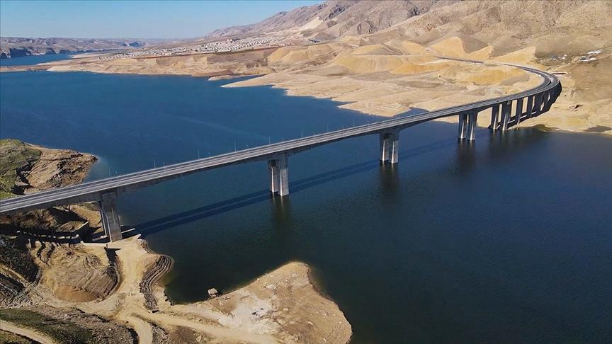 Türkiye'nin en uzun köprülerinden Hasankeyf-2 / Cumhurbaşkanı Erdoğan'ın katılımıyla bugün açılıyor