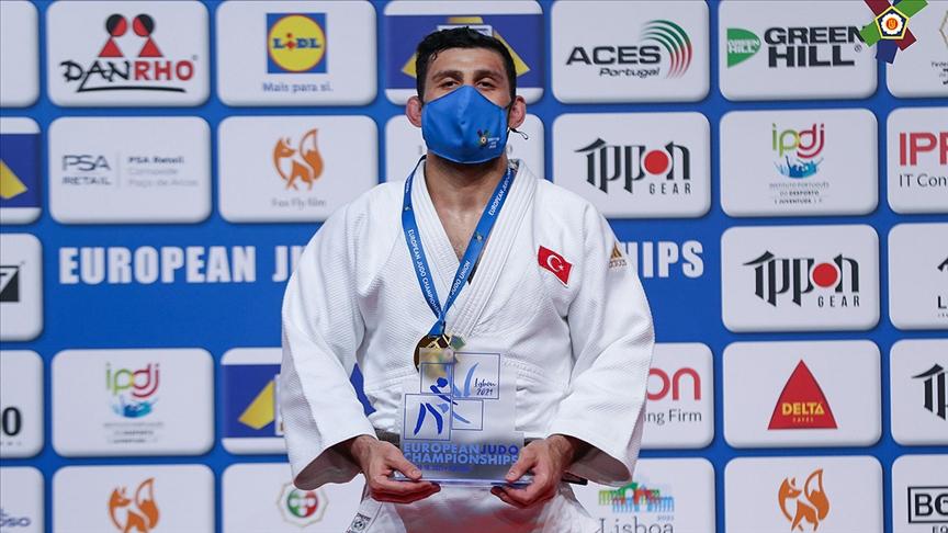 Milli judocu Vedat Albayrak, Avrupa şampiyonu oldu!