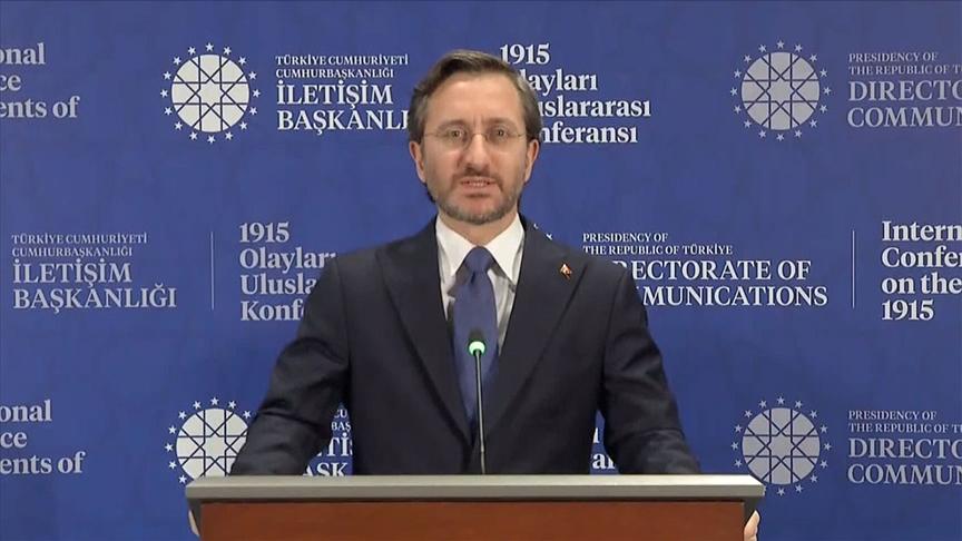 """""""Sözde Ermeni soykırımı iddiası sadece siyasi hesaplardan beslenen bir iftiradır"""""""