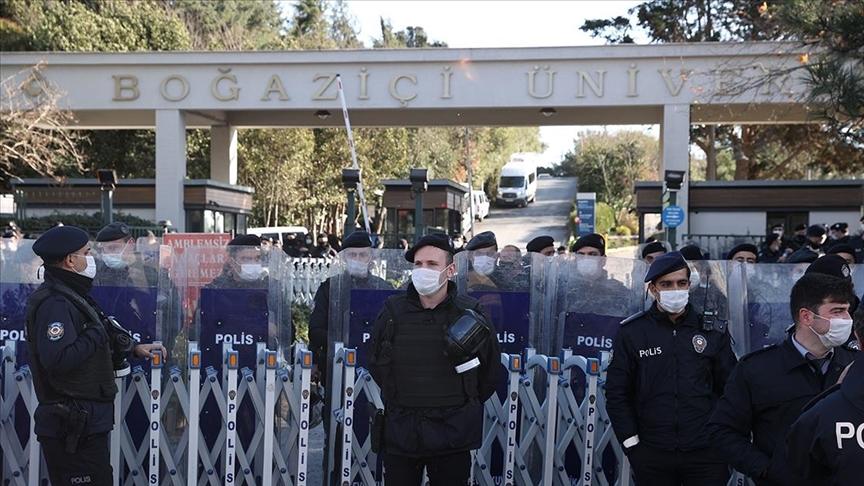 Boğaziçi Üniversitesi'ndeki gösterilerle ilgili 97 kişi hakkında dava açıldı