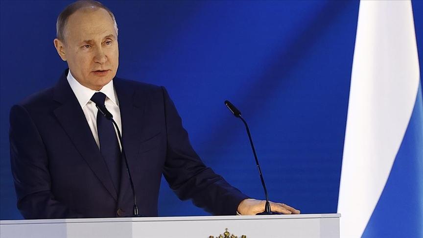Rusya Devlet Başkanı Vladimir Putin'den Sert Açıklama
