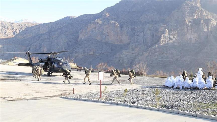 Bölücü terör örgütüne yönelik ilkbahar-yaz operasyonları başladı