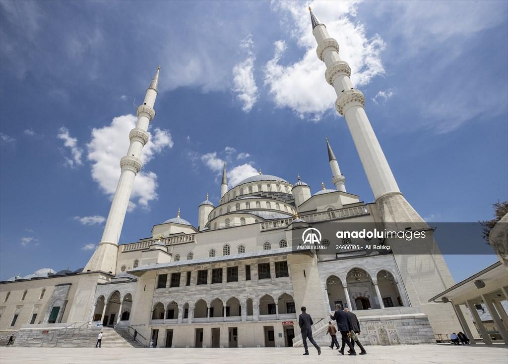 'Ramazan ayının son cuma namazı'