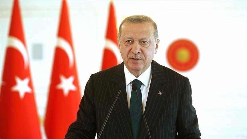 Erdoğan: Anneler ailenin ve toplumun yapı taşını oluşturmakta
