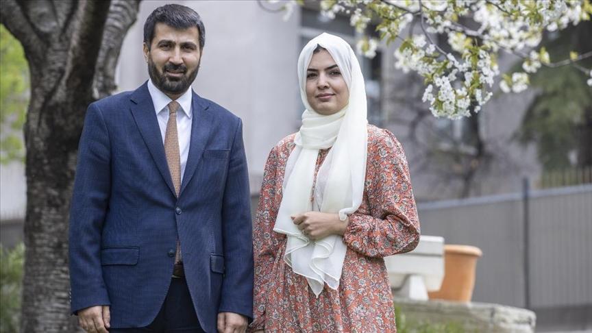 Ankara Büyükelçisi Ramin, ülkesinin ramazan geleneklerini eşiyle anlattı