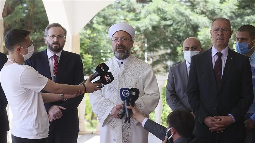 Diyanet İşleri Başkanı Erbaş'tan Önemli Açıklama
