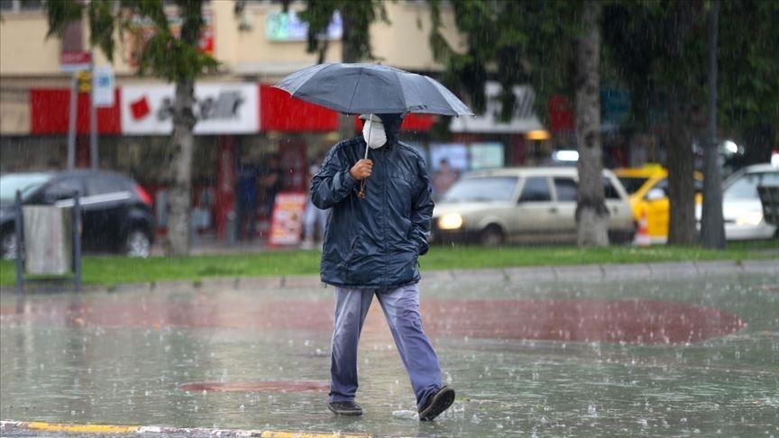 Marmara Bölgesi'ndeki bazı iller için sağanak uyarısı