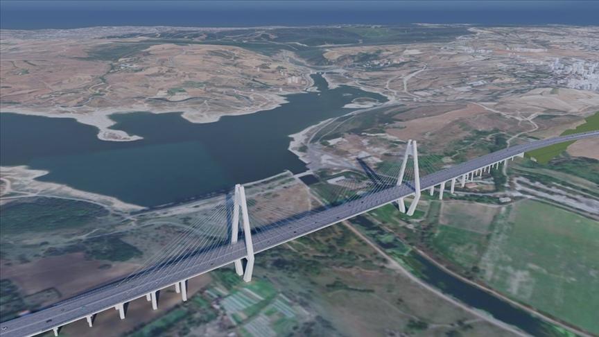 Kanal İstanbul'un ilk köprüsünün detayları belli oldu!