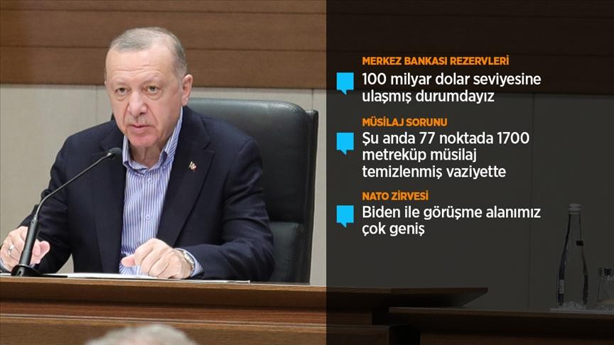 Erdoğan: NATO Zirvesi'nde müttefiklerimizle ittifaka verdiğimiz önemin altını bir kez daha çizeceğiz