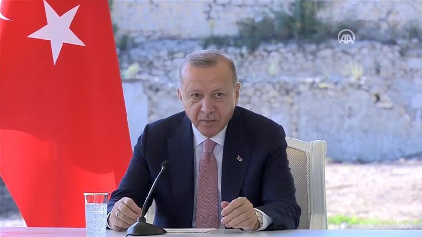 Erdoğan: Şuşa'da en kısa sürede başkonsolosluk açmayı planlıyoruz