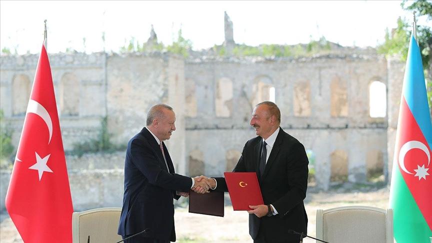 Erdoğan ve Aliyev 'Şuşa Beyannamesi'ne imza attı!