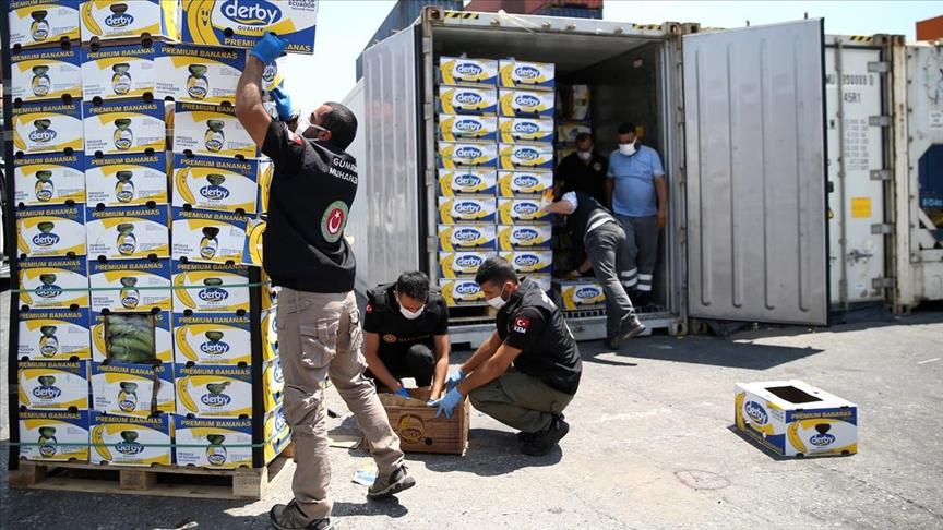 Mersin Limanı'ndaki operasyonda 150 kilo daha kokain ele geçirildi, uyuşturucu miktarı 1 ton 300 kilograma çıktı!