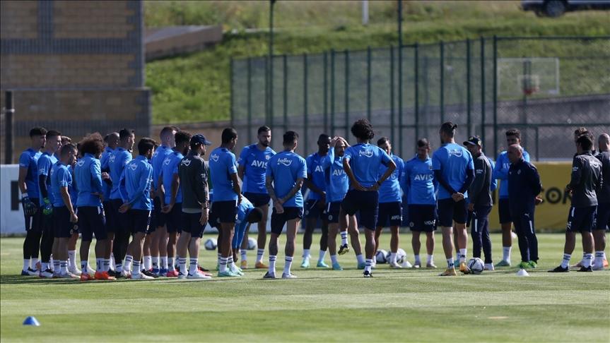 Fenerbahçe, Düzce'deki ilk etap kamp çalışmalarını tamamladı