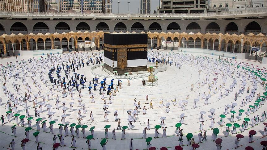 Kutsal topraklardaki Müslümanlar, ziyaret tavafını yaptı!