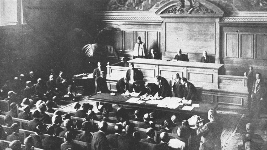Lozan Antlaşması'nın imzalanmasının üzerinden 98 yıl geçti!