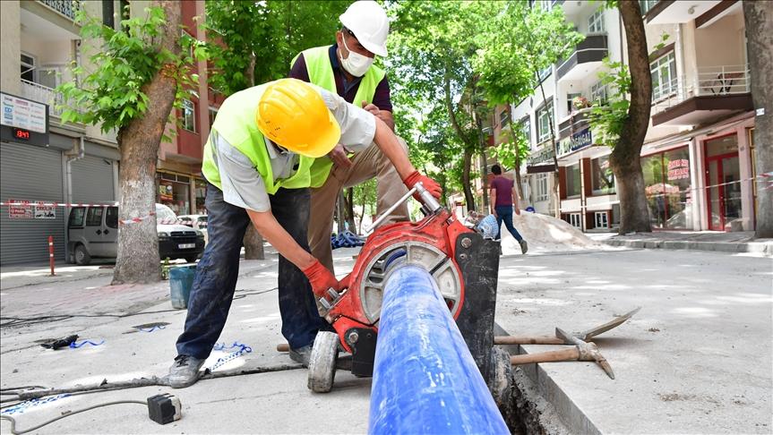 Başkentte asbestli boruların değiştirilmesi çalışmaları devam ediyor