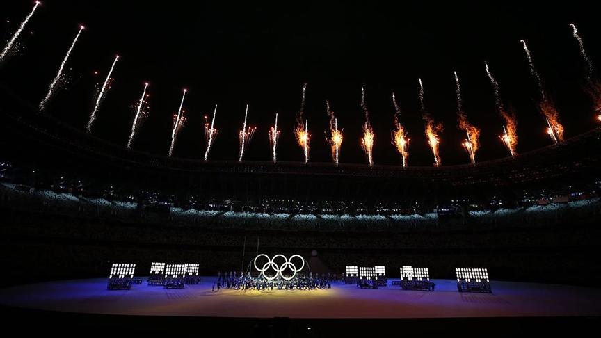 Tokyo 2020'nin açılış seremonisi gerçekleştirildi!