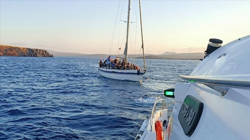 İzmir'de 388 sığınmacı kurtarıldı!
