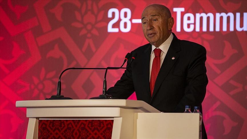 TFF Başkanı Özdemir: Kulüplerimize nefes aldıran adımlar attık