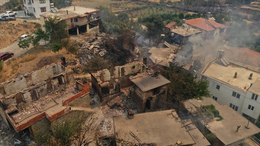 Çevre ve Şehircilik Bakanlığı, Manavgat'taki 5 mahallede hasar tespit çalışmalarını tamamladı