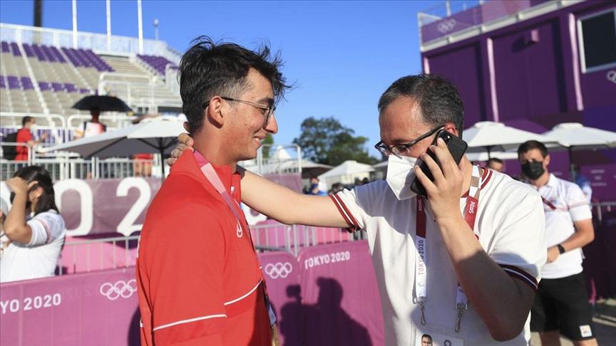 Erdoğan'dan olimpiyat şampiyonu Mete Gazoz'a tebrik telefonu