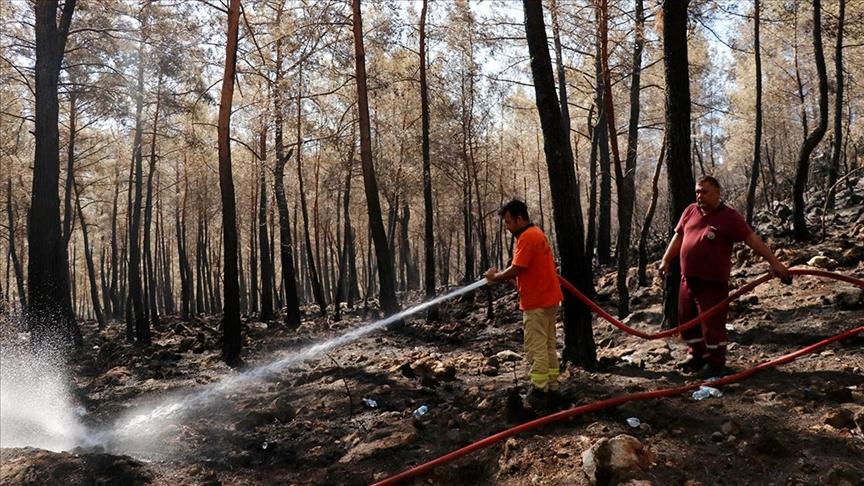 Yangın-Cell orman yangınlarında personelle kesintisiz iletişimi sağlıyor