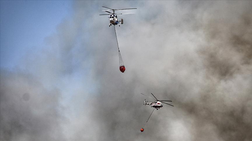 Pakdemirli: 107 tane orman yangını çıktı, bunun 98'i kontrol altında 9'u devam ediyor