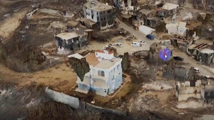 'Drone'lar orman yangınlarındaki hasar tespiti için havalanıyor