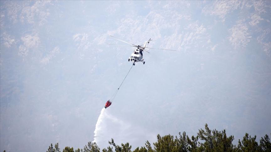 Orman yangınlarına müdahalede 4 bin 150 havuz ve gölet kullanılıyor