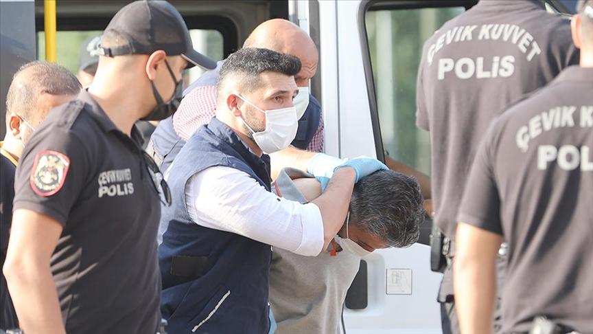 Konya'da 7 kişinin öldürülmesiyle ilgili yakalanan katil zanlısı Mehmet Altun adliyeye sevk edildi