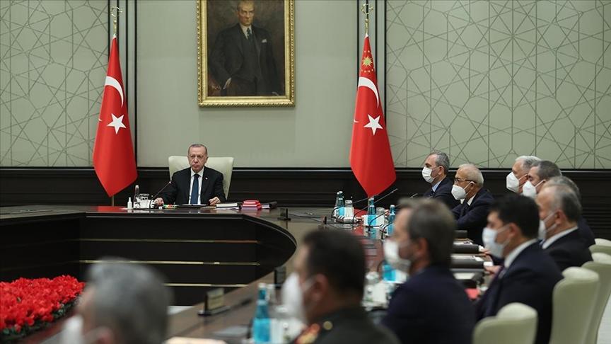 MGK bildirisi: Kıbrıs'ta taraflar çözümün parçası olmaya davet edildi