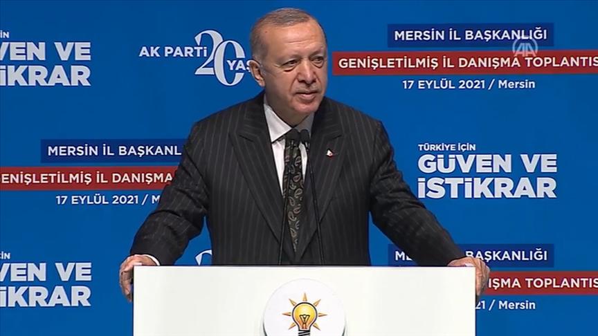 Cumhurbaşkanı Erdoğan'dan MERSİN'de flaş açıklamalar